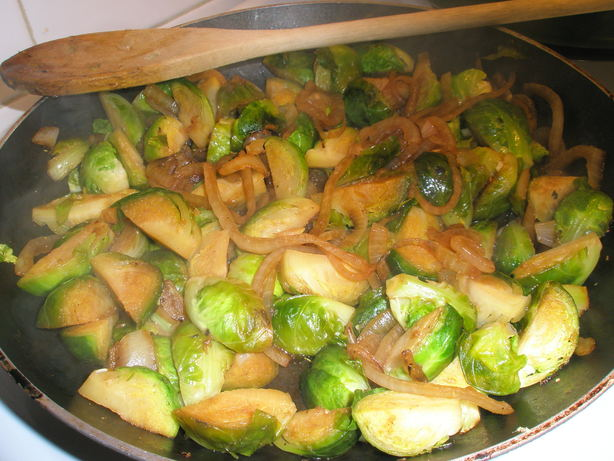 Sesame Ginger Brussels Sprouts