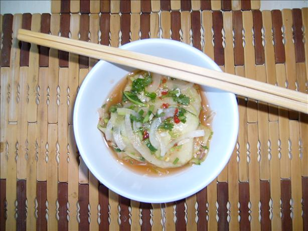 Spicy Thai Cucumber Salad