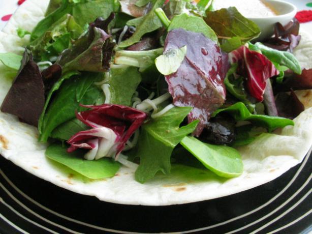 Simple Tortilla Bowl for Taco Salad