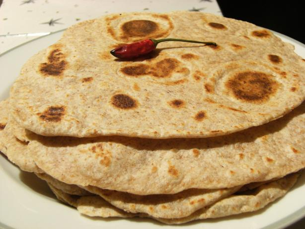 Hot Chile Tortillas