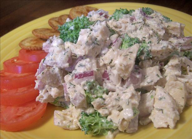 Chicken Salad With Broccoli