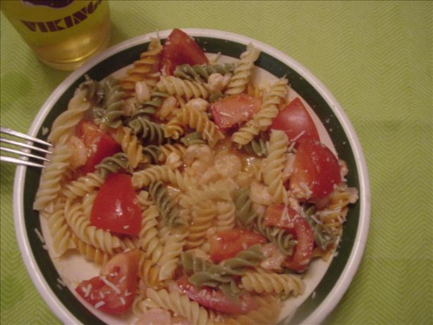 Biff's Sweet Sour Shrimp and Pasta