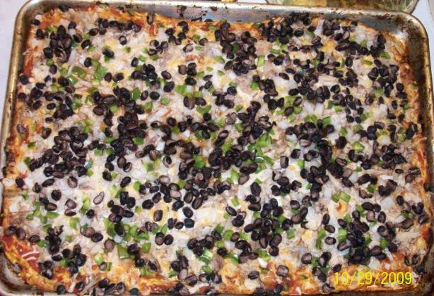Chicken Santa Fe Pizza