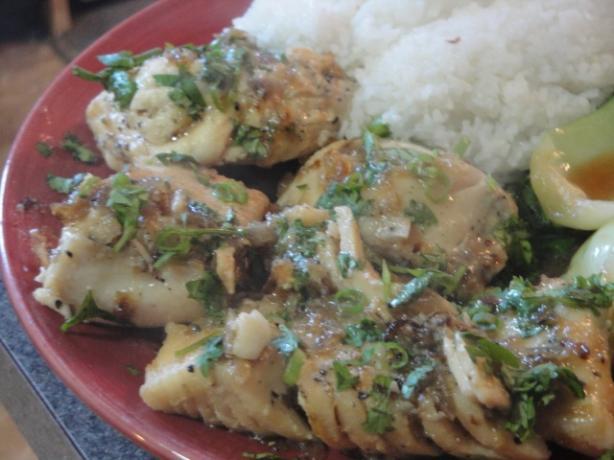 Caramelized Black-Pepper Fish