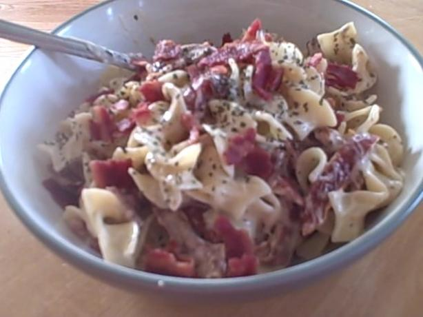 Bacon and Sun-Dried Tomato Alfredo Pasta (Ww Recipe)