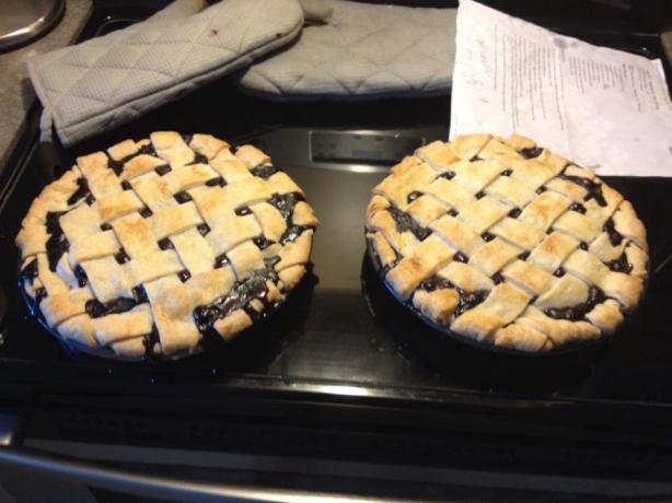 Perfect Blueberry Pie Filling