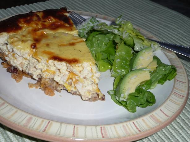 Chicken Pecan Quiche