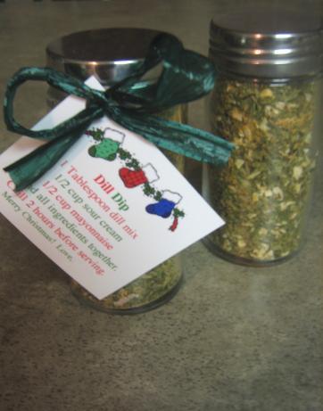 Dill Dip in a Jar