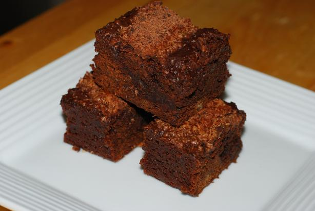 Espresso Brownies Supreme