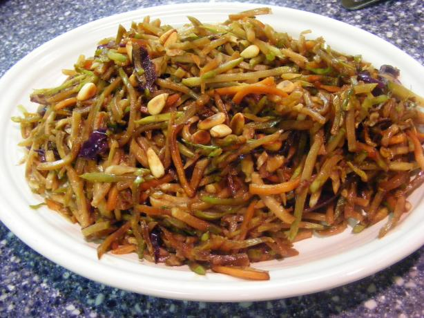 Cathy's Quick Stir-Fried Broccoli Slaw Side Dish