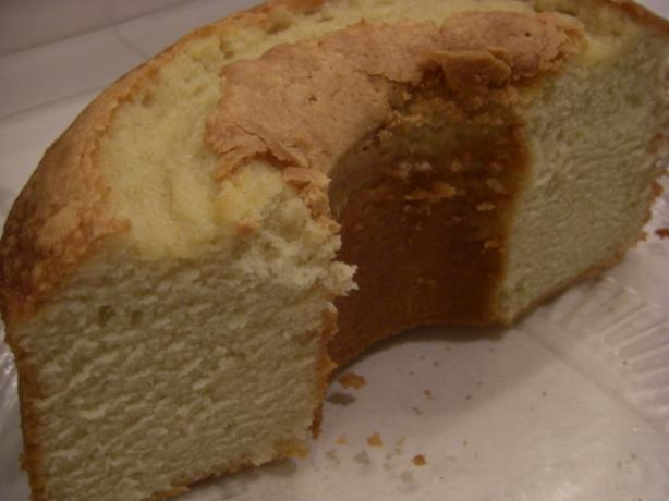 Mom's Sour Cream Pound Cake