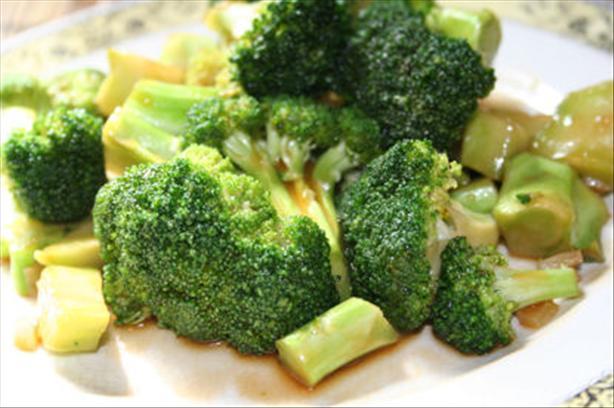 Stir-Fried Asian Style Broccoli