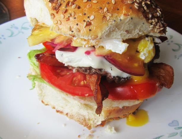 Saveur's Aussie Burger