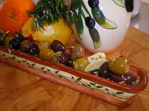 Spanish Marinated Olives