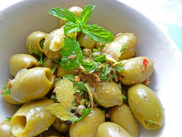 Marinated North African Olives