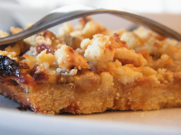 """banana Crumble Pie"" Squares/Bars"