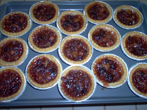 Cranberry Mincemeat Tarts
