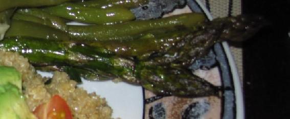 Simple Baked Asparagus