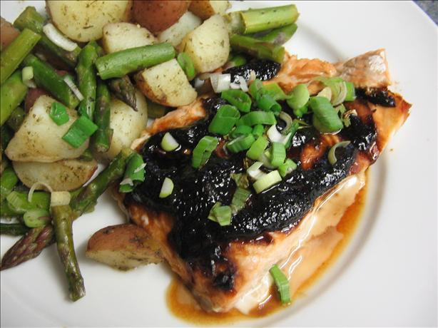 Miso- Glazed Salmon