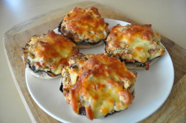 Theresa's Famous Stuffed Mushrooms