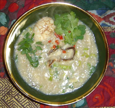 Rice Congee With Chicken