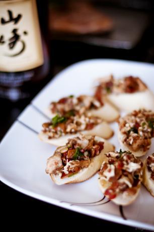 Warm Mushroom Crostini