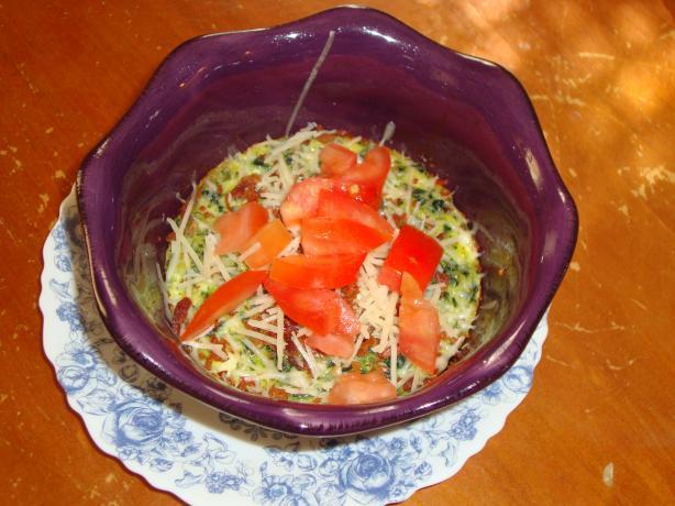 Spinach Pesto Egg Bakes