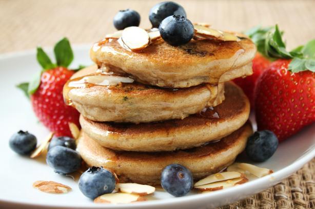Silver Dollar Pancakes (Gluten Free)