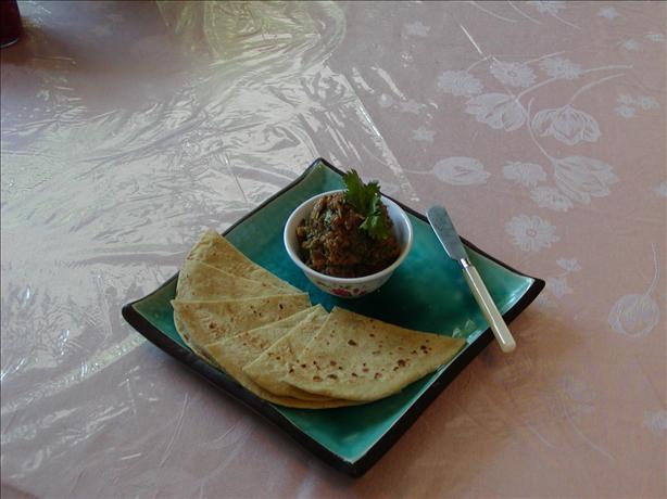 Baigan Bhartha (Eggplant /Aubergine)