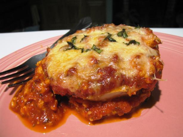 Dianne's Eggplant Parmesan