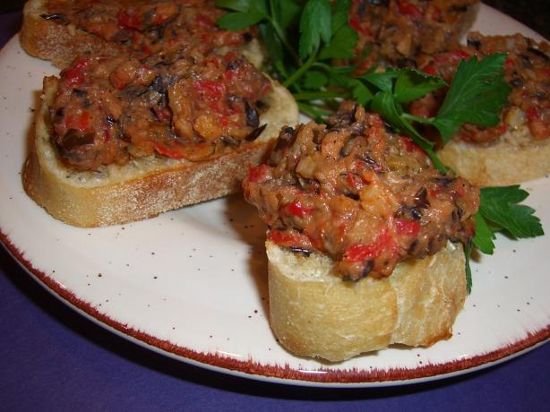 Roasted Eggplant (Aubergine) Spread