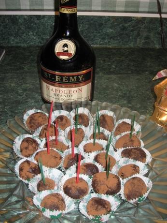 My Secret Brandy Truffles