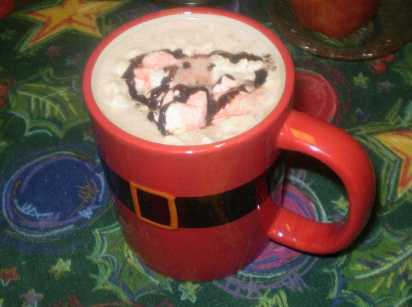 Chocolate Covered Cherry Latte