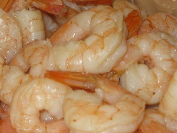 Zesty Boiled Shrimp