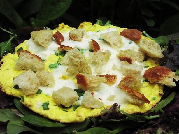 Summer Frittata With Fresh Herbs