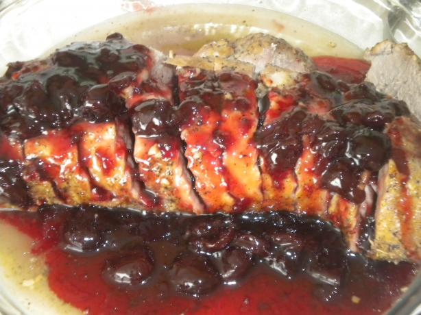 Cherry Glazed Porkloin