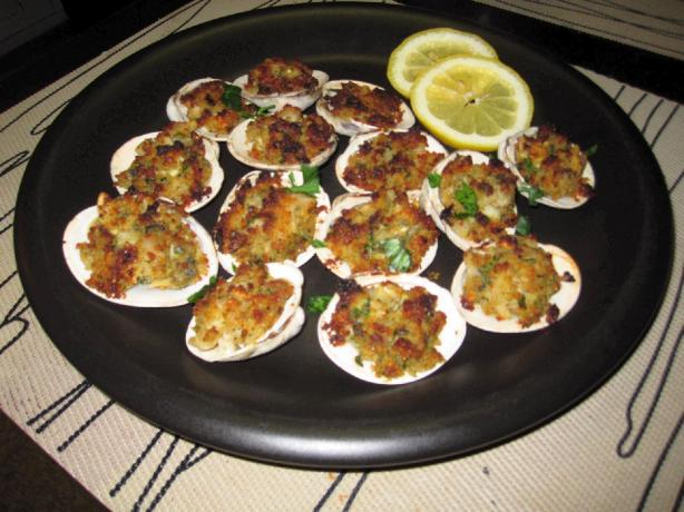 Fresh Baked Clams