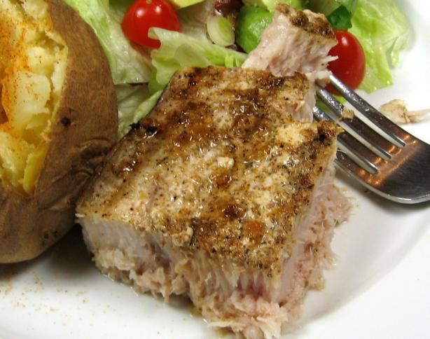 Cajun-Style Grilled Swordfish
