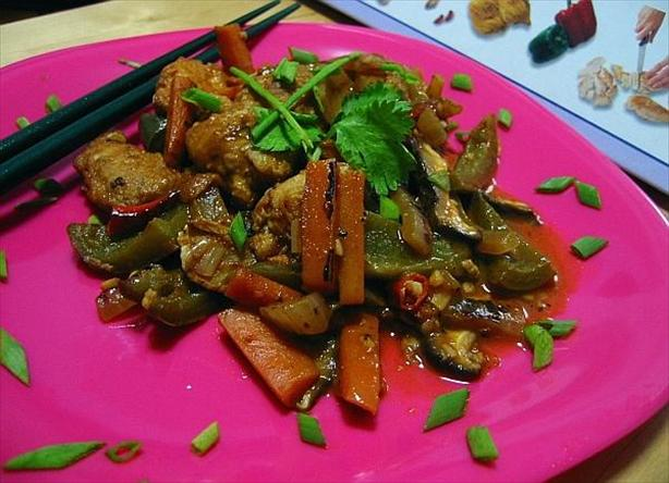 Colorful Hot and Sour Chicken