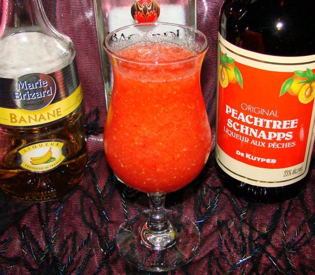 Peach Surprise Cocktail