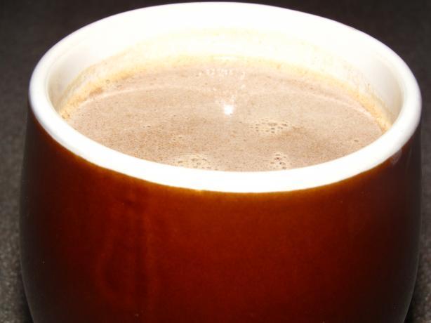 Hot Chocolate + Pb Cups = Ooh La La! (Kid-Friendly)