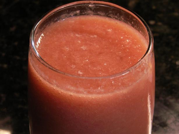 Pineapple, Watermelon & Strawberry Slushes