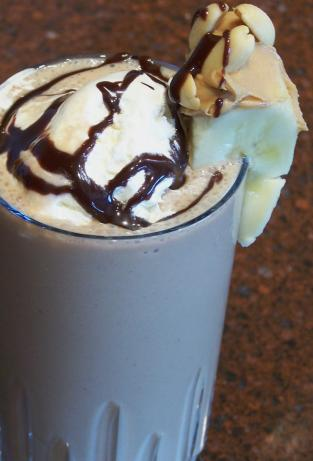 Nutty Chocolate Banana Shake