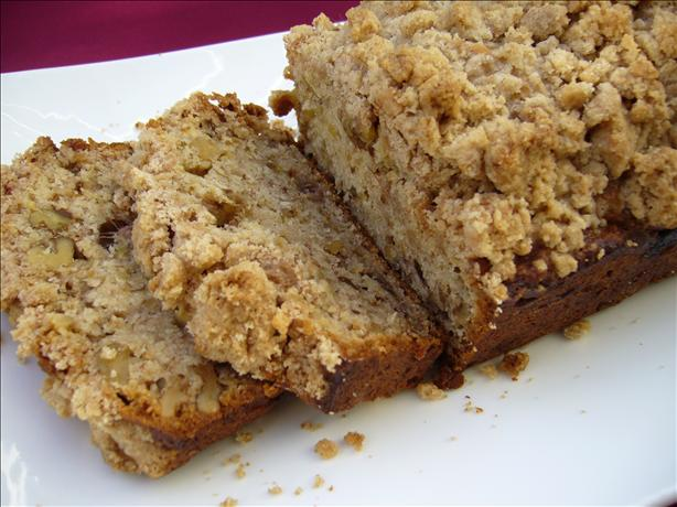 Unique and Yummy Banana Crunch Bread