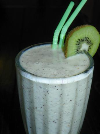 Kiwi Slushi (Vegan, Low-Fat)