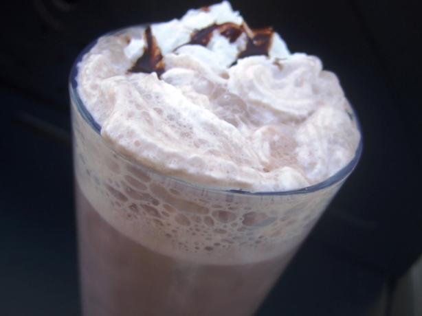 Coffee Vanilla Chocolate Smoothie