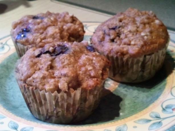 Health Nut Muffins