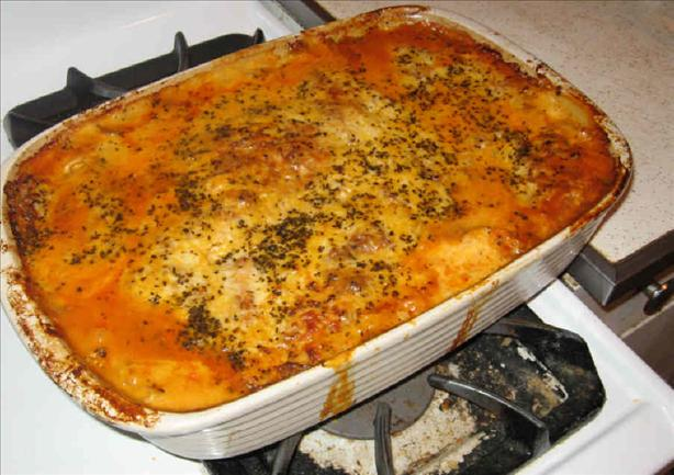 Patrick's Four-Cheese Lasagna