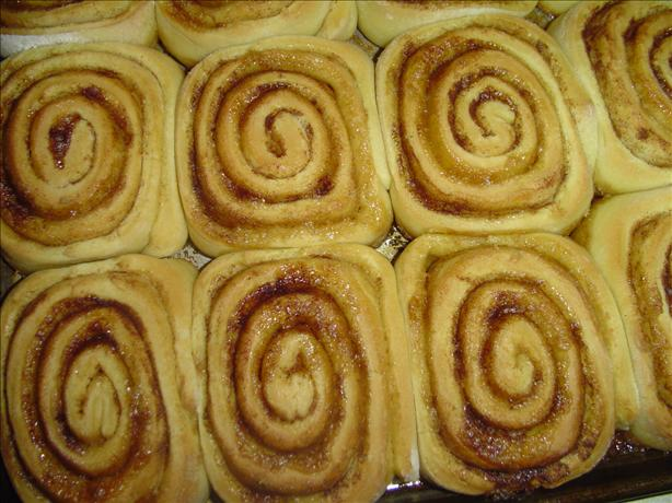 Cinnamon Rolls Using Cake Mix!