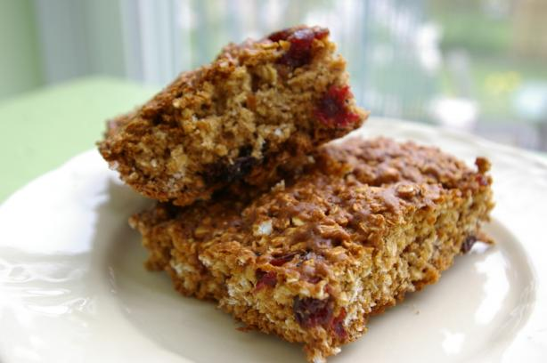 Chewy Fruit & Oatmeal Bars